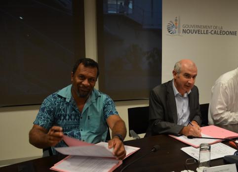 Didier Poidyaliwaneest également chargé des affaires coutumières.