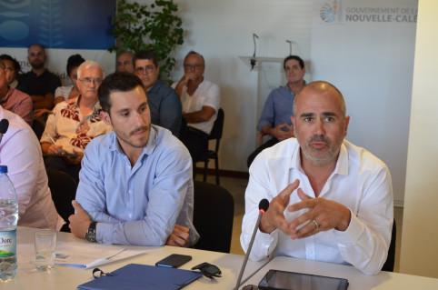 Alban Goulet Allard et Zoltan Kahn, président et vice-président de la structure.