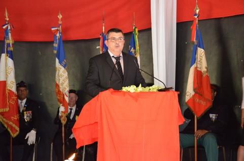 « Nous avons un devoir de mémoire, celui d'une mémoire commune », a déclaré le président du gouvernement Philippe Germain.