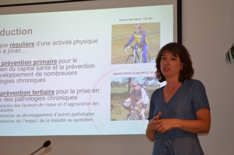 Marie-Liesse Dovergne, directrice de l'association EfFORMip et formatrice.