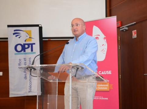 « Il était nécessaire pour l'OPT-NC d'accompagner la Nouvelle-Calédonie dans cette lutte déclarée Grande Cause de la mandature 2019-2024 », a indiqué Yoann Lecourieux.