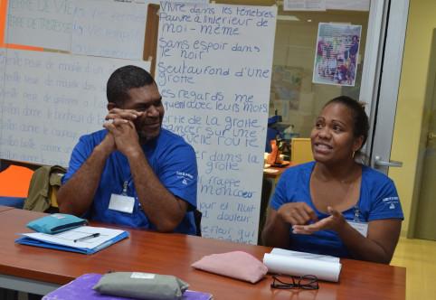 Fabian et Jeannette ont évoqué leur expérience en entreprise.