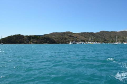 Le remblai pourrait être créé au sud-ouest de la baie.