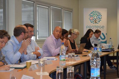« L'objectif final de PROTEGE est de renforcer et de pérenniser la coopération calédonienne avec les PTOM de la région et, pourquoi pas, d'identifier de possibles pistes de collaboration avec les pays ACP (Afrique, Caraïbes et Pacifique) », a souligné Céd