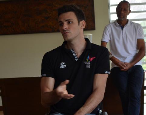 Nicolas Brignone, athlète de haut niveau et chargé de mission au sein du GIP handicap, dépendance et bien vieillir.