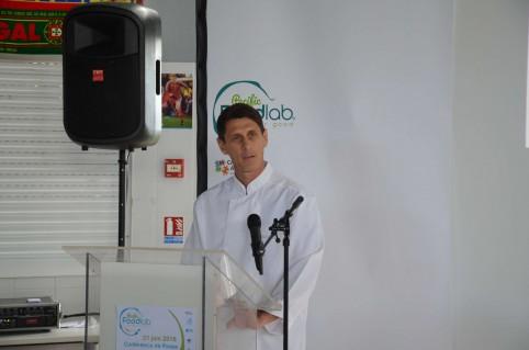 Gabriel Levionnois, président de l'association NeoFood et pilote du projet Recettes bénéfiques.