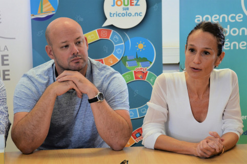 Christopher Gygès et Isabelle Champmoreau ont tenu à saluer le travail d'équipe effectué entre le gouvernement et l'ACE sur le projet Tricolo.