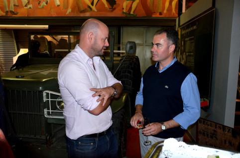 Christopher Gygès et Cameron Diver, directeur général adjoint de la CPS, ont participé aux célébrations des 80 ans de la présence diplomatique australienne en Nouvelle-Calédonie.