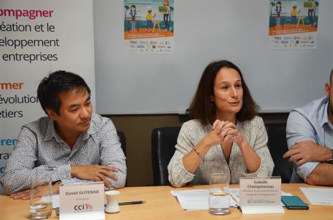 « Les petits Calédoniens ont beaucoup de chance de pouvoir participer à cet événement », a lancé Isabelle Champmoreau.