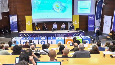 La table ronde sur la e-santé a réuni les représentants des différents établissements de santé calédoniens, le chargé de mission e-santé pour le plan Do Kamo et des experts du numérique (©Diginova).
