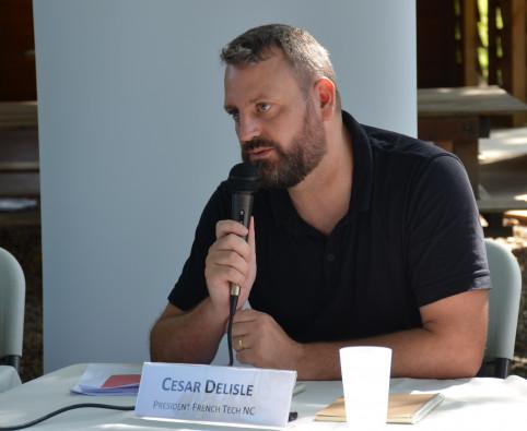 César Delisle, président de la communauté French Tech Nouvelle-Calédonie.