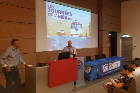 Christopher Gygès, membre du 16e gouvernement, a participé à l'ouverture des Journées de la mer.
