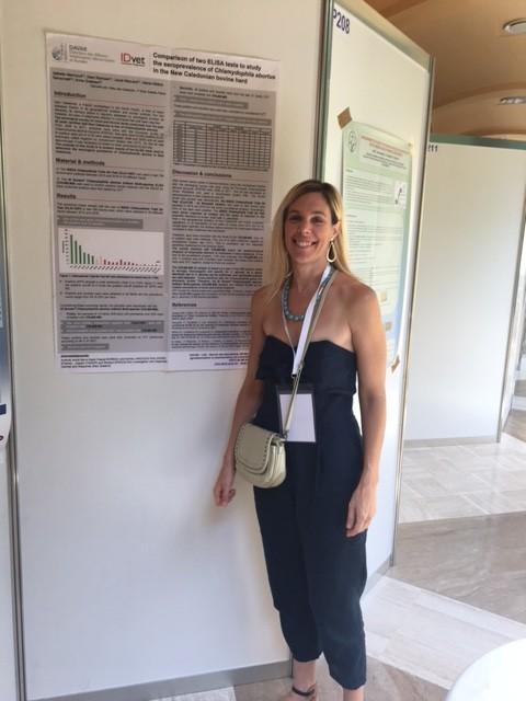 Au WAVLD 2017 à Sorrente (Italie), le LNC a été représenté par la société IDVet, dont Anna Greatex, du département de la communication.