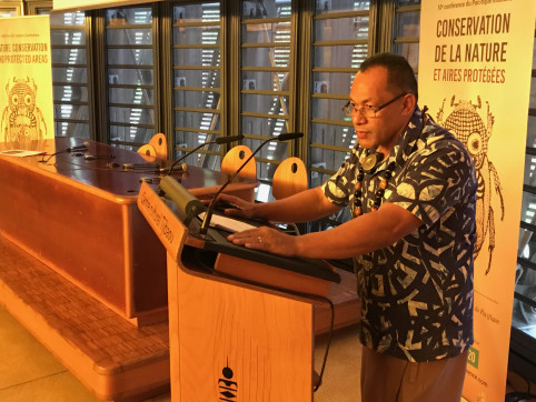 Kosi Latu, directeur général du PROE.