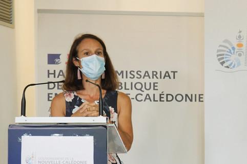 Isabelle Champmoreau a présenté les mesures qui concernent l'école.