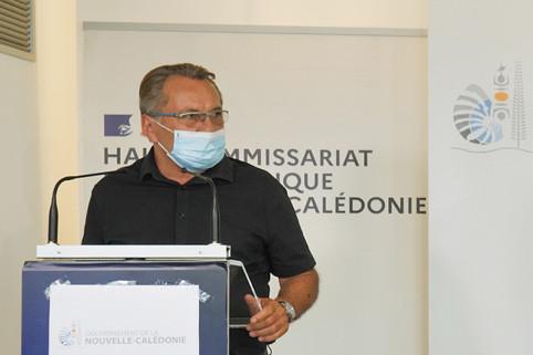 Jean-Louis d'Anglebermes est intervenu sur la réouverture des marchés alimentaires.