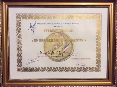 Le titre national « Un des Meilleurs apprentis de France » est certifiant et donne accès au statut de conseiller technique.