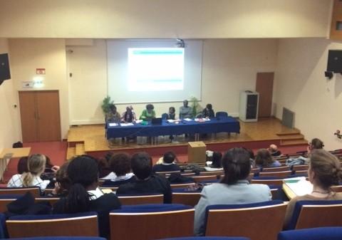 À l'université de Rouen, le secteur de la condition féminine du gouvernement a présenté son bilan d'actions.