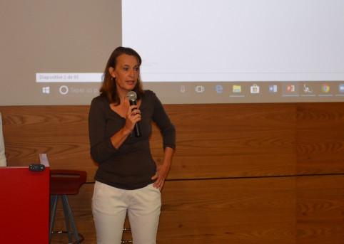 Magda Bonnal-Turaud, directrice du travail et de l'emploi a ouvert la Matinée de la prévention.