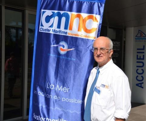 Lionel Loubersac, manager du Cluster Maritime Nouvelle-Calédonie.