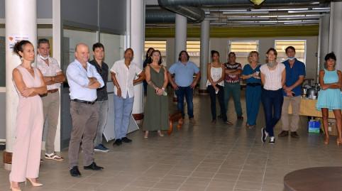 Bénévoles des associations et agents volontaires du gouvernement et de l'OPT-NC étaient présents.