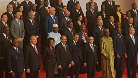 Dans son discours, Emmanuel Macron a souhaité que l'OIF, représentation politique des quelque 274 millions de francophones dans le monde, soit un lieu de reconquête.