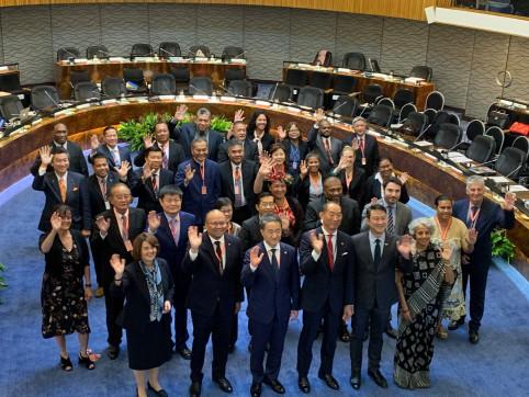 Les ministres de la santé et hauts responsables de 37 États et territoires d'Asie et du Pacifique étaient réunis à Manille (©OMS).