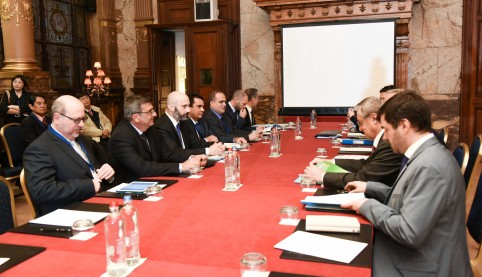 Session d'ouverture du 16e Forum UE-PTOM. © Union européenne.