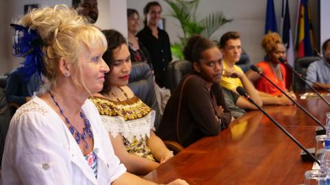 Christiane Tetu-Wolff, directrice de la DPJEJ, « emballée » par le projet.