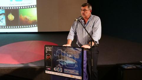 Philippe Germain a salué l'implication des bénévoles de l'association Sub'limage qui organise le festival.