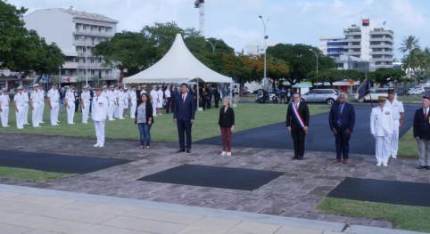 L'ensemble des autorités civiles et militaires étaient présentes.