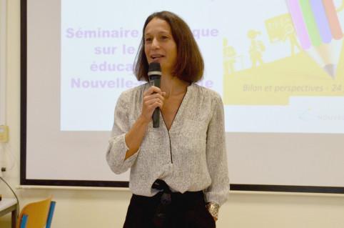 Isabelle Champmoreau vise un résultat avant tout « opérationnel ».