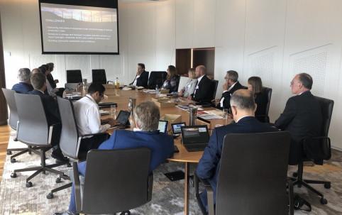 Table ronde avec les représentants de Queensland Trade and Invest.
