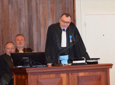 Yves Dupas, nouveau procureur de la République.