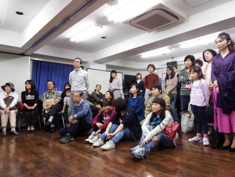 Les apprenants en français, assidus, sont venus découvrir ce nouvel espace au sein de leur Alliance de Nagoya.