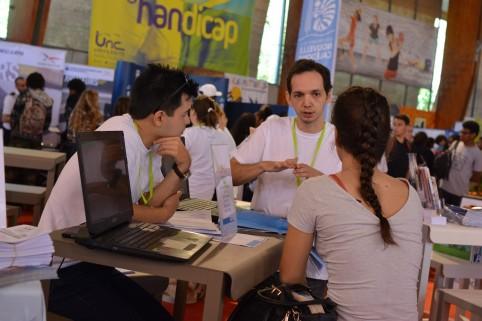 Le Salon de l'étudiant a rassemblé plus de 15 000 visiteurs en deux jours.