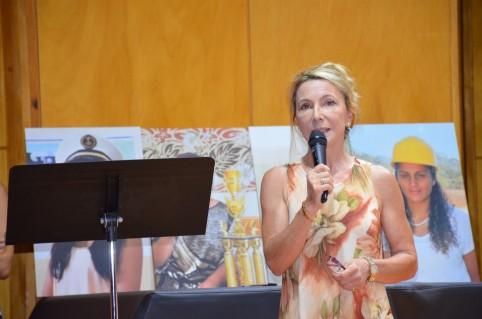 Véronique Mollot-Lehoullier, pilote du Comité calédonien 3 E.