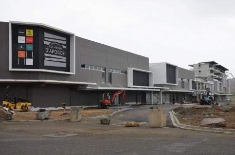 Le chantier mobilise plus d'une dizaine d'entreprises pour un investissement d'environ 3 milliards de francs.