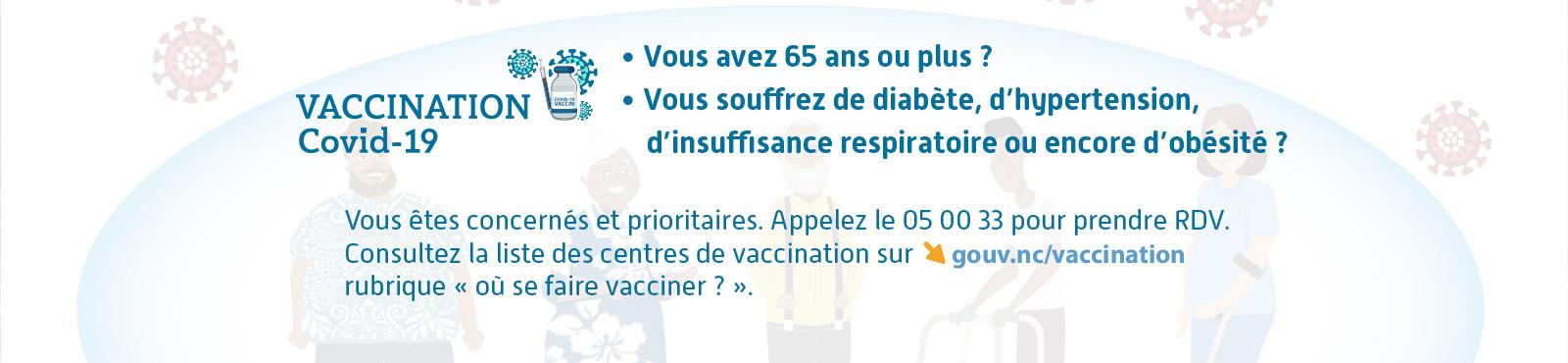 vaccination prioritaire