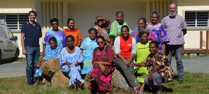 Une quinzaine de femmes de Touho, et quelques hommes, ont assisté à l'intervention de l'Adie sur le prêt de groupe, en présence de représentants du gouvernement, à la mairie de la commune.
