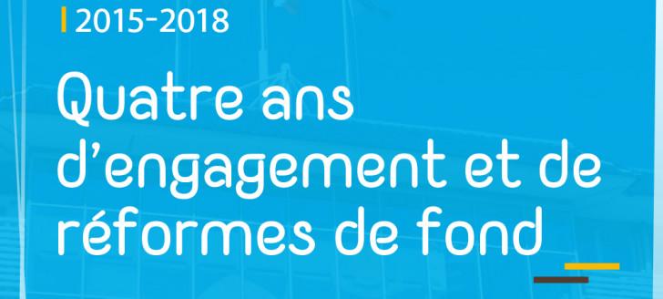 Philippe Germain a présenté le bilan du gouvernement le 25 octobre.