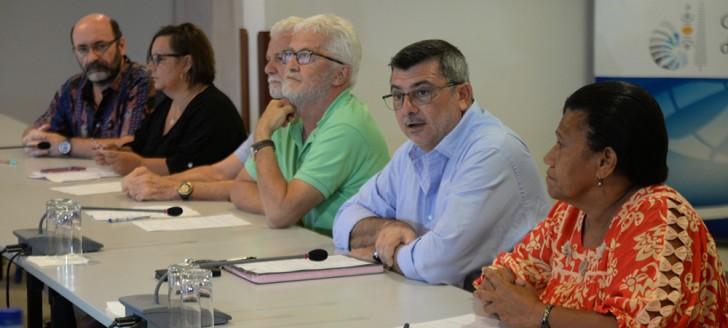 La déclaration commune signée dimanche 6 mai par le gouvernement et le collectif de la clinique Île Nou-Magnin a pour effet de suspendre la grève du secteur privé de la santé lancée le 25 avril. ©DR.