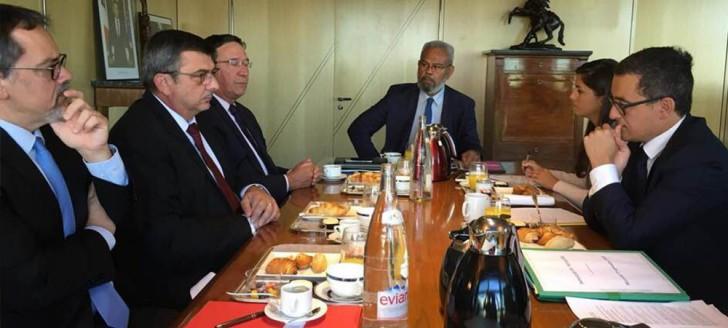 Gérald Darmanin a reçu le président du gouvernement et les parlementaires calédoniens.