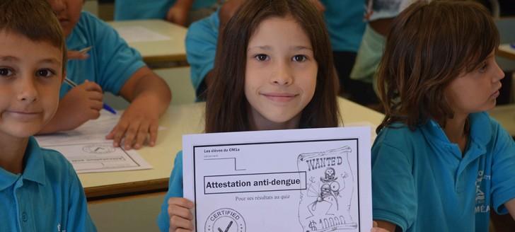 Une séance de sensibilisation aux arboviroses a eu lieu à l'école Boletti.