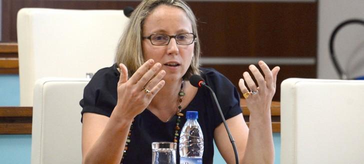 Aurélie Zoude-Le Berre, présidente de l'Autorité de la concurrence en Nouvelle-Calédonie. © Photos Les Nouvelles calédoniennes