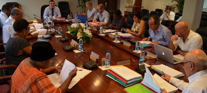 Cinq jours après l'élection de son président et vice-président, le 15e gouvernement s'est réuni le 6 décembre pour sa première séance.