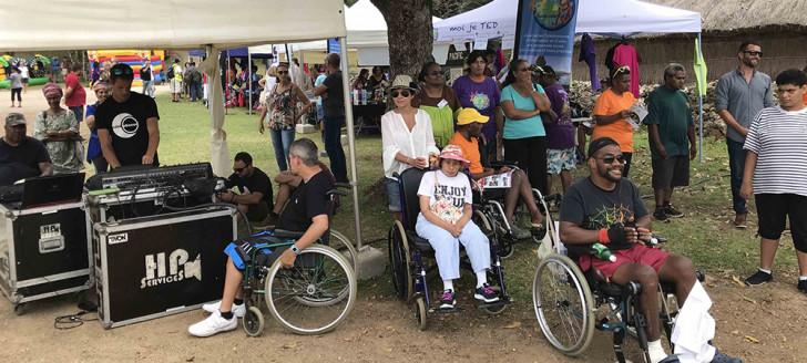 Pour la deuxième fois, la journée internationale du handicap a été célébrée au centre culturel Tjibaou.