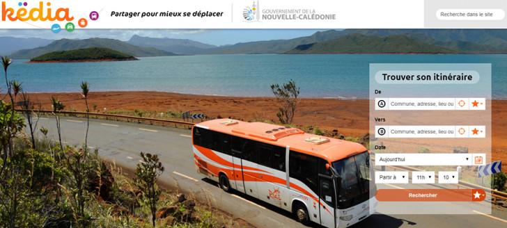 Këdia est la première centrale de mobilité de Nouvelle-Calédonie.