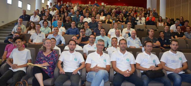 Photo de la grande famille des géomaticiens.