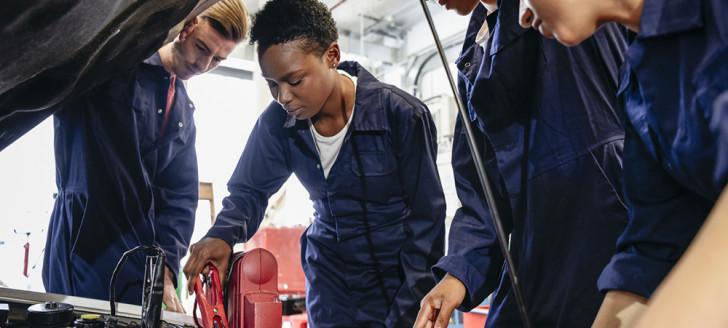 Le pôle maintenance automobile de l'EFPA à Ducos devrait être transféré à Nouville d'ici trois ans.